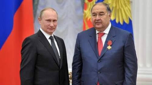 Alicher Bourkhanovitch Ousmanov (en russe : Алишер Бурханович Усманов) est un homme d'affaires russe d'origine ouzbek né le 9 septembre 1953 à Tchoust dans l'oblast (aujourd'hui viloyat) de Namangan de la république socialiste soviétique d'Ouzbékistan. La fortune d'Ousmanov est estimée à 14,4 milliards de dollars américains en 2015. Il est le propriétaire de plusieurs yachts, notamment le Dilbar, long de 156 m, qui a coûté 600 millions de dollars.