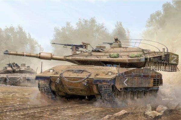 Le Merkava (מרכבה, char (à chevaux) en hébreu biblique) est un char de combat principal d'Israël. De conception entièrement locale, il a été développé avec pour principal objectif la protection et la survie de l'équipage.