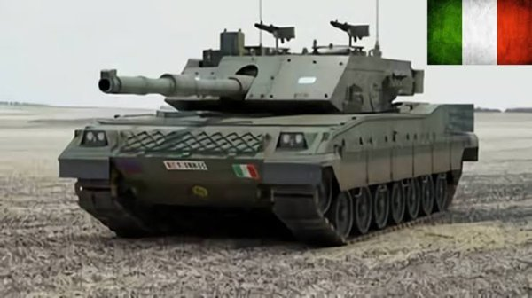 La puissance de son moteur Fiat-Iveco V-12 MTCA sera portée à 1 600 ch lors des opérations de révision des chars.