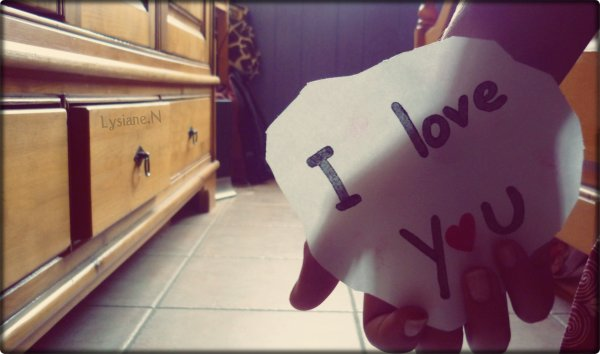 L'amour est parfois cruel, surtout quand il n'est pas partagé ♥.