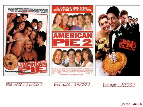 Sondage :  American Pie 1,2,3 , lequel est votre préféré ??