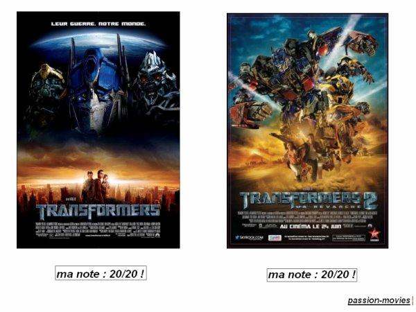 Sondage : Transformers 1 ou 2 ? lequel préférez vous ?