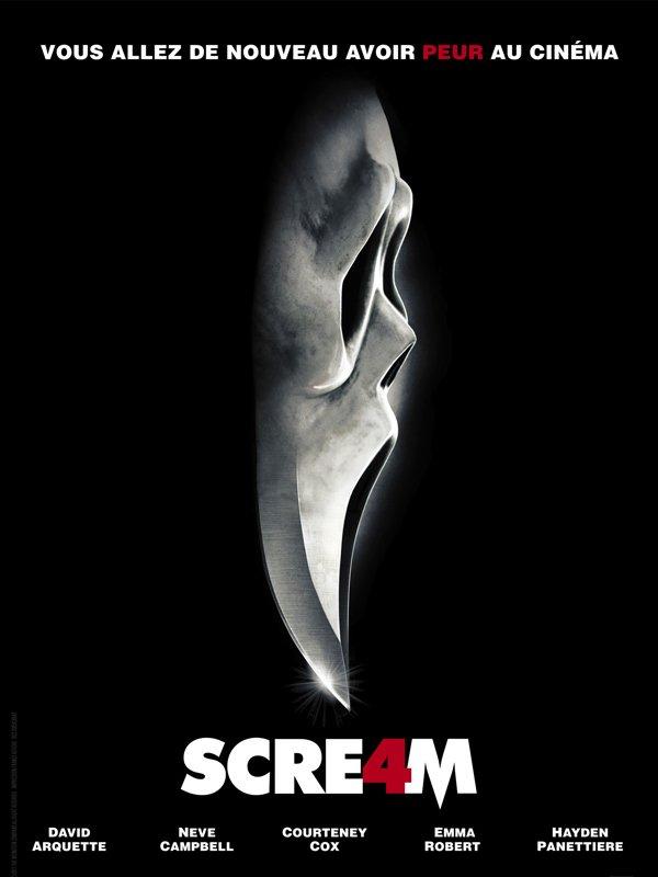 """ Scream 4 "" actuellement au cinéma !"