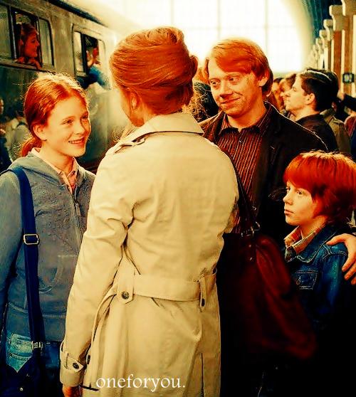 OS : Les Weasley, une famille pas comme les autres : Une journée au parc pas très banal.