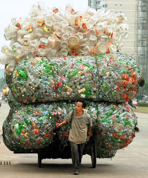 Recyclage: Man vs Conscience