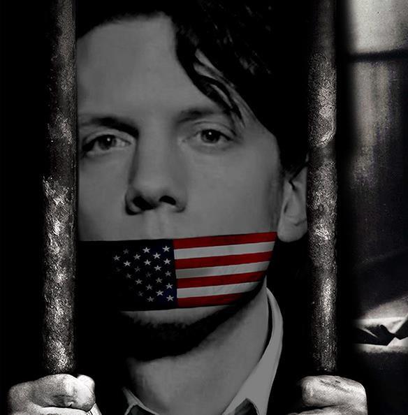 Pour conserver l'opacité, la vérité est enfermée entre quatre murs : Free Jeremy Hammond.