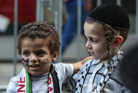 Nous sommes les Enfants de la Paix :)