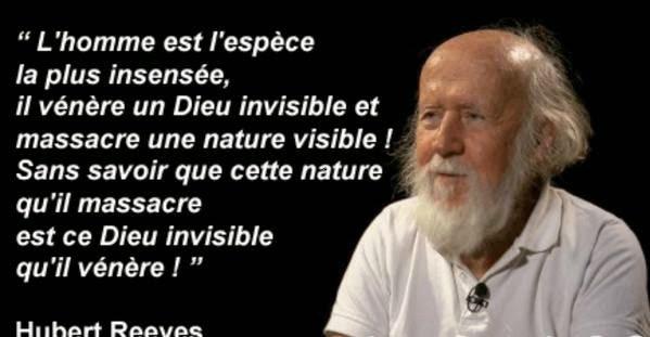 """""""L'Homme est l'espèce la plus.."""