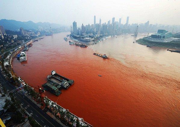 Pollution de l'eau ¿