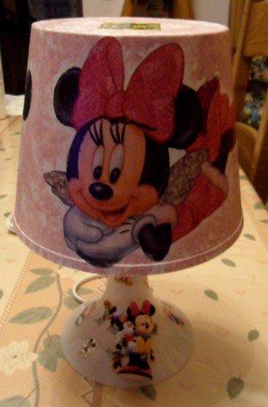 Lampe personnalisée MINNIE 10 euros