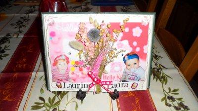Livre décoré pour un bapteme