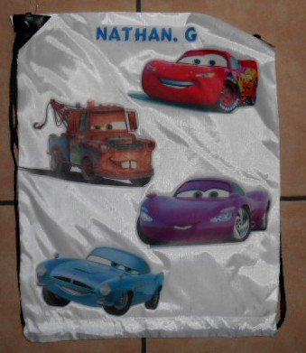 Sac CARS   10 euros