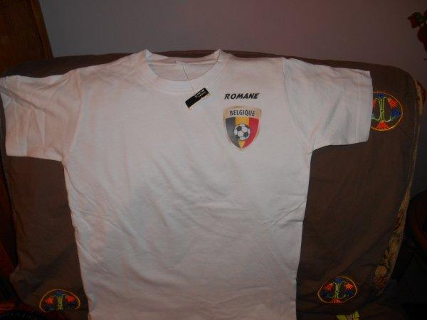 Tee shirt personnalise pour club  8 euros