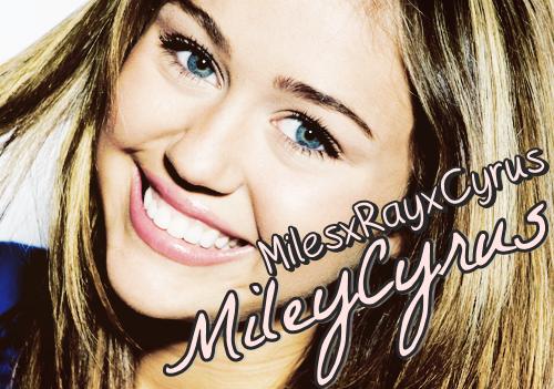 Miley Cyrus. ♥
