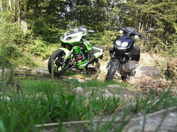 scoot et moto