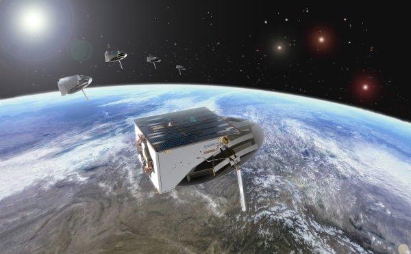 SAR-LUPE  les Satelites de renseignements  de la Bundeswehr .