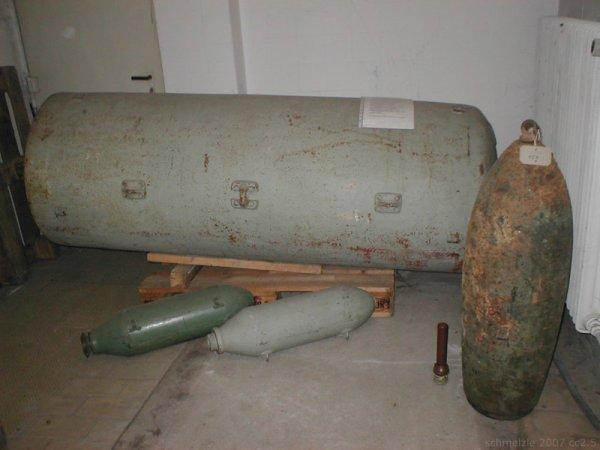 Heibronn Ces bombes qui n'ont pas Exposés  16 Décembre 1944