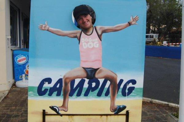 Vacances au camping des Flots bleue sur les traces de mon idole