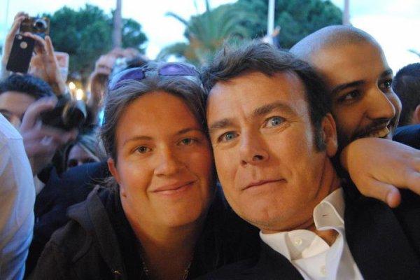 Sur la Croisette a Cannes avec Franck !!!!