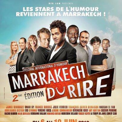 Festival du Marrackech du rire Le grand Gala C'est parti !!!!