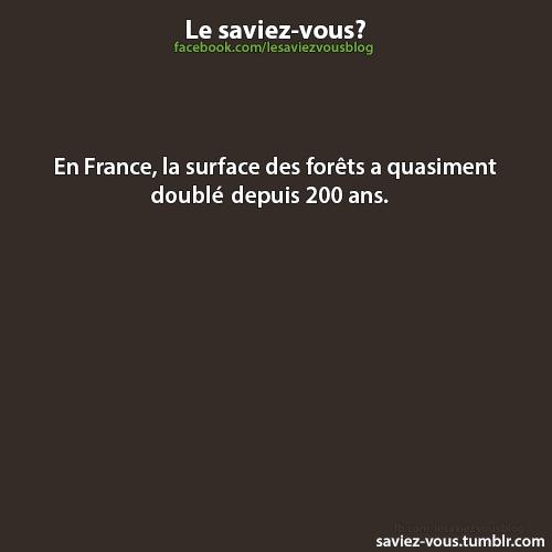 Saviez-vous cela sur la France ?