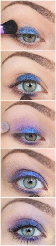 Maquillage Violet ☺