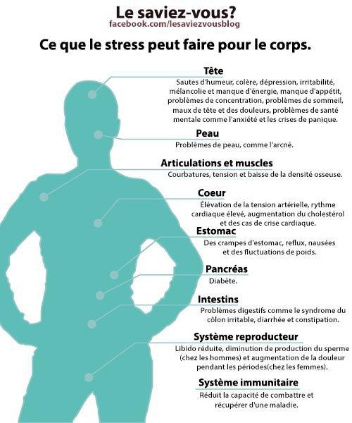 Saviez-vous cela sur le stress ?