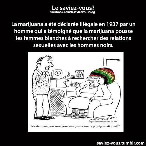 Saviez-vous cela sur la marijuana ?