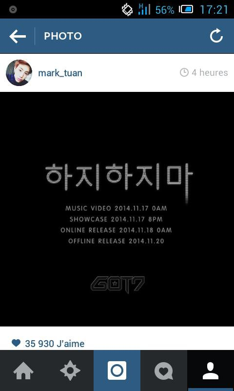 GOT7 Mark IG