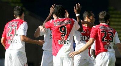 Monaco 2-0 Auxerre ( 4eme journée de ligue 1 )
