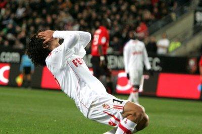 Rennes 1-0 Monaco ( 16eme journée de ligue 1 )