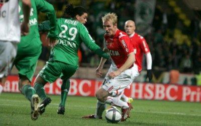 Monaco 0-2 Saint-Etienne ( 17eme journée de ligue 1 )
