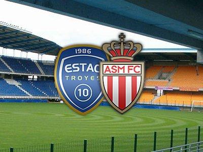Troyes 1-1 Monaco ( 2eme journée de ligue 2 )