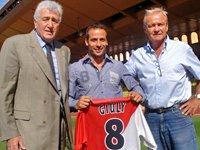 Ludovic Giuly 7eme recrue oficielle de l'AS Monaco lors du mercato estival 2011/2012