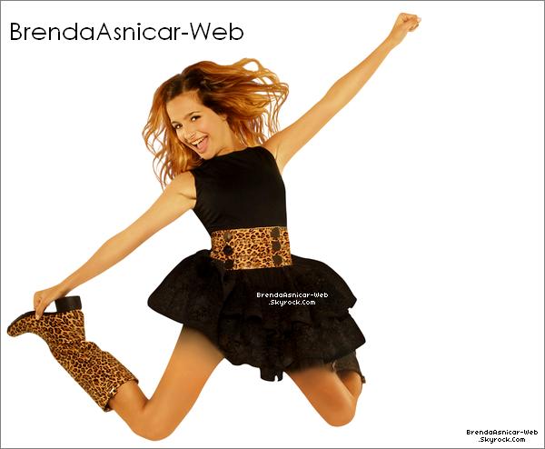 """Toute les photos promotionnelle de Brenda pour son personnage Antonella dans la saisons 2 de """" De Tout Mon Coeur """""""