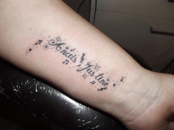 tattoo prenom