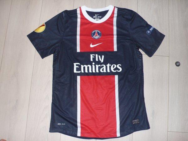 Maillot Pastore PSG Home 2011/2012 Europa League