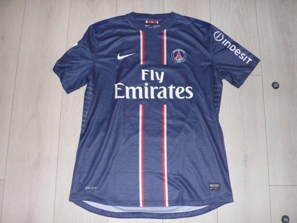 Maillot Ibrahimovic PSG Home 2012/2013 Ligue 1