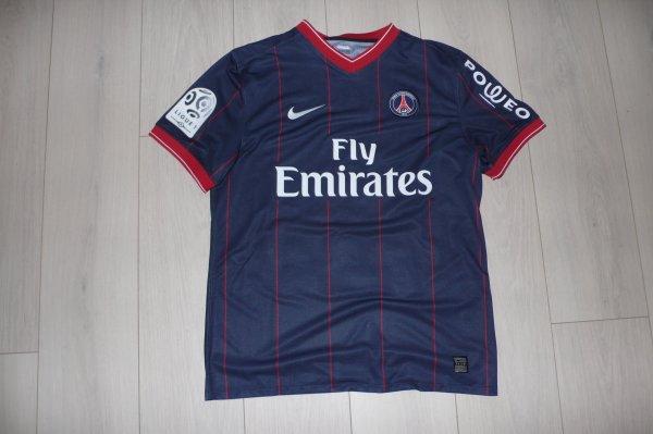 Maillot Bourillon PSG Home 2009/2010 Ligue 1
