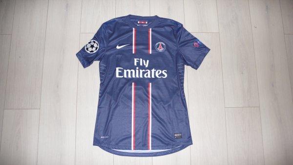Maillot Nene PSG Home 2012/2013 Ligue des Champions