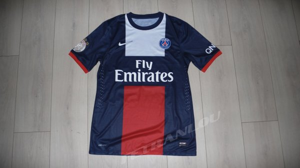 Maillot Lavezzi PSG Home 2013/2014 Ligue 1