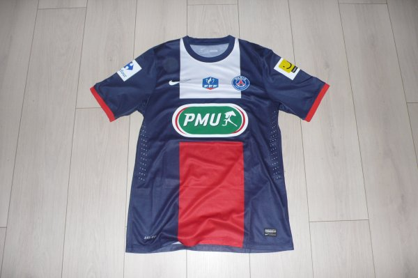 Maillot PSG Home 2013/2014 Coupe de France