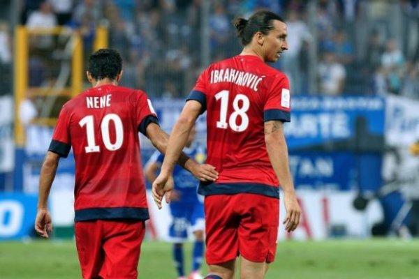 Maillot Nene PSG away 2012/2013 Ligue 1
