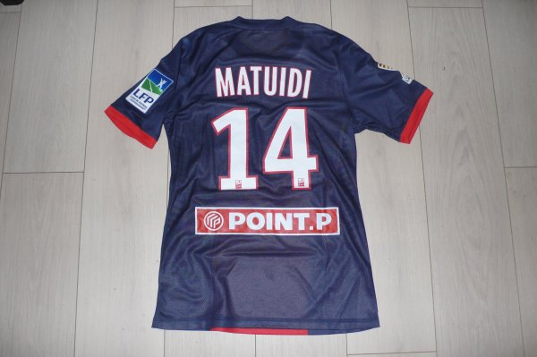 Maillot Matuidi PSG Home 2013/2014 Coupe de la Ligue