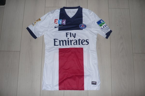 Maillot Lucas PSG Away 2013/2014 Coupe de la Ligue