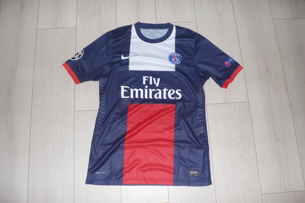 Maillot Maxwell PSG Home 2013/2014 Champions League