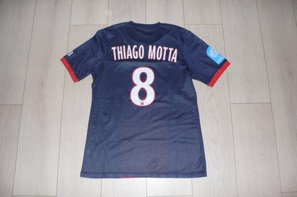 Maillot Motta PSG Home 2013/2014 Trophée des Champions