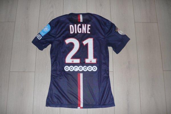 Maillot Digne PSG home 2014/2015 Trophée des Champions