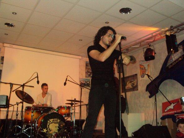 Fred'angelo en Concert au Didier Racing 23/10/2010
