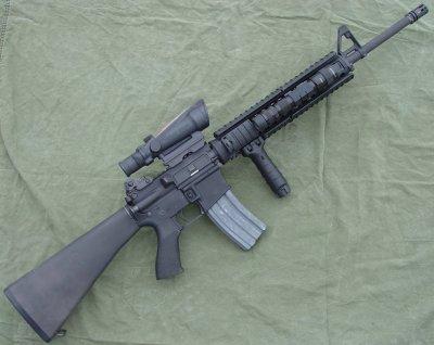 la M16A4 elle est top bien